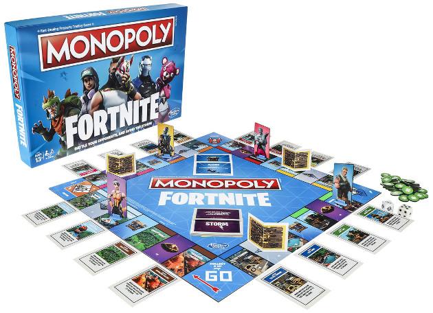 Monopoly Fornite gra