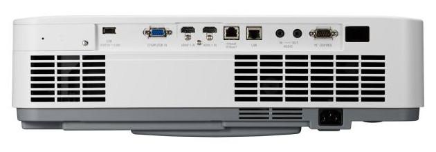 NEC P525UL i P525WL tył