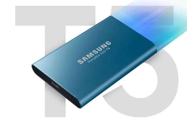 Samsung Portale SSD T5