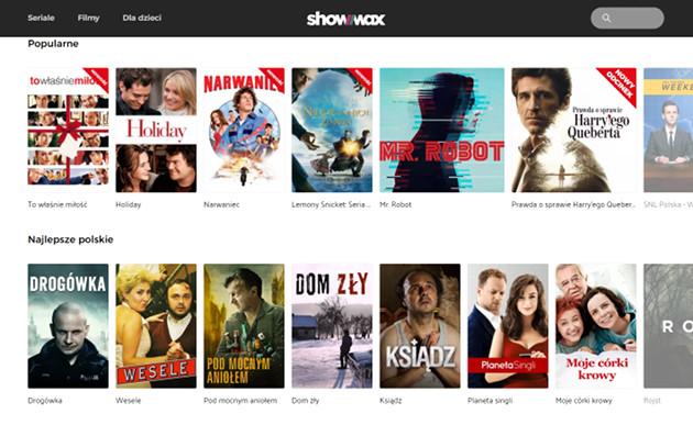 Showmax screen