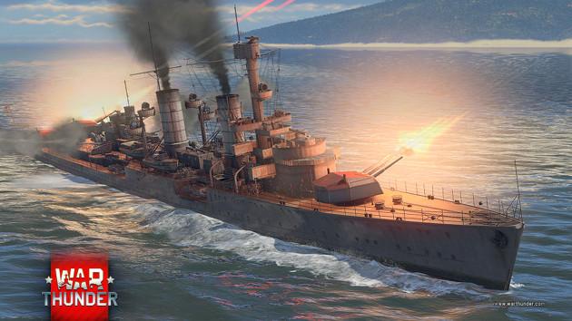 War Thunder Supersonic okręt