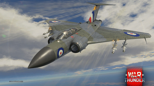 War Thunder Supersonic samolot
