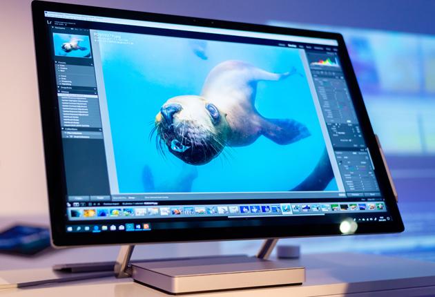 Microsoft Surface Studio edycja zdjęć