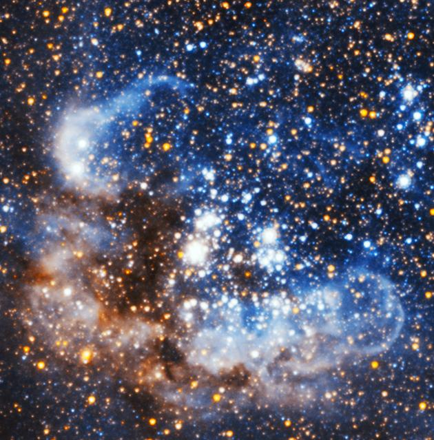 M33 obszar gwiazdotwórczy