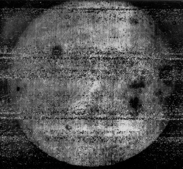 Luna 3 zdjęcia niewidocznej strony