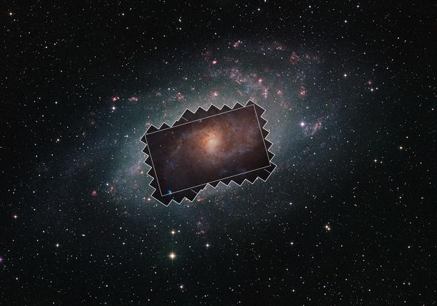 M33 widok z Ziemi