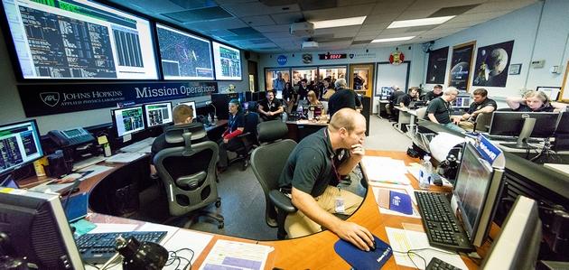 New Horizons centrum misji