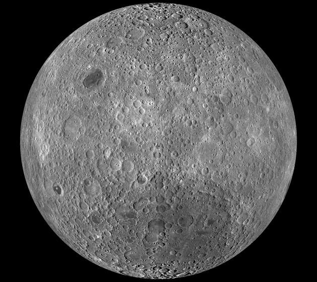 Niewidoczna strona Księżyca - LRO