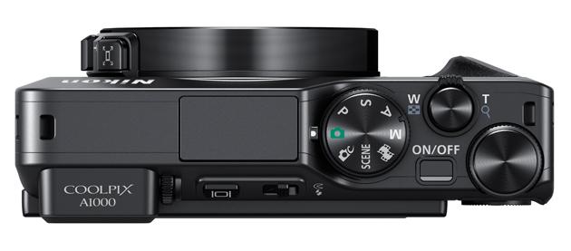 Nikon Coolpix A1000 góra