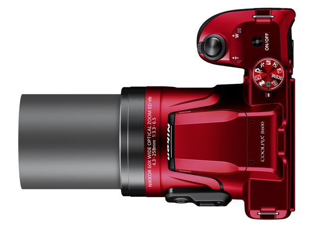 Nikon Coolpix B600 zoom
