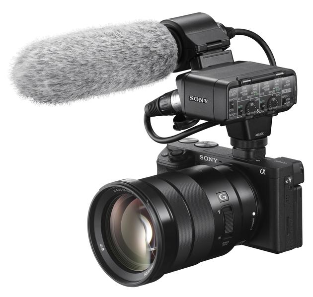 Sony A6400 wideo mikrofon