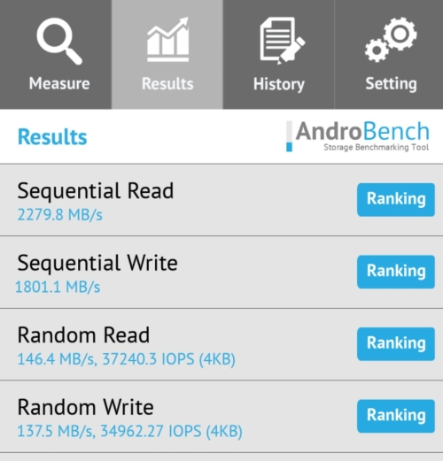 OnePlus pamięć UFS 3.0