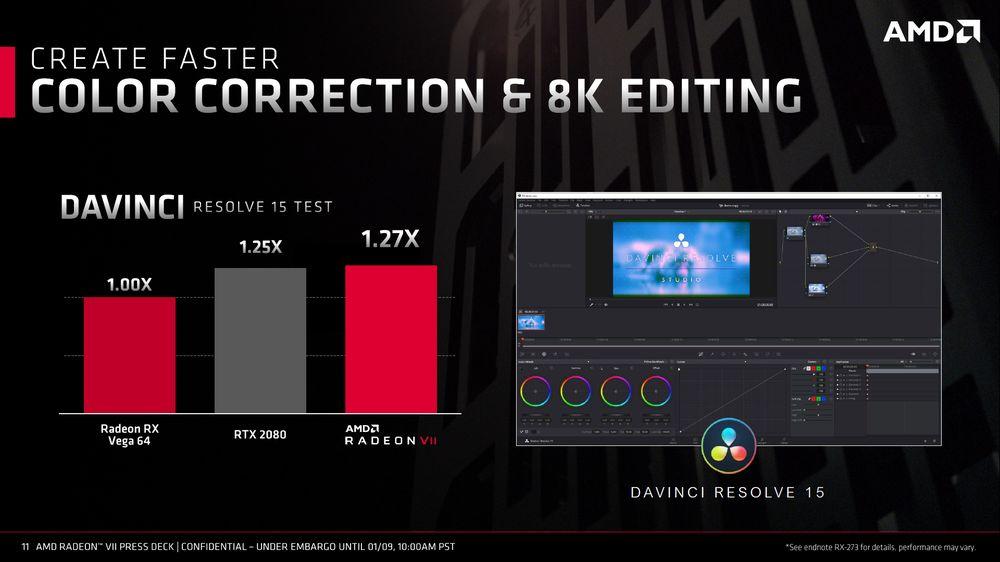 AMD Radeon VII - slajd