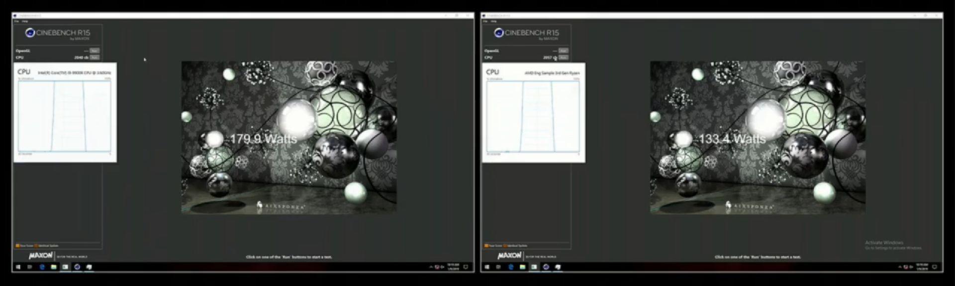 AMD Ryzen 3000 vs Intel Core i9-9900K