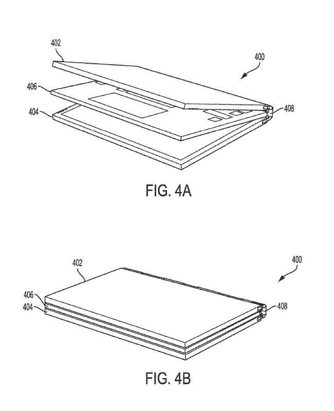 Dell - koncept laptopa z dwoma odłączanymi ekranami