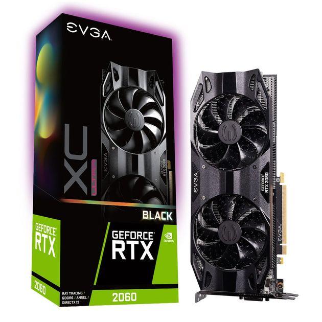 EVGA GeForce RTX 2060 XC Ultra Black