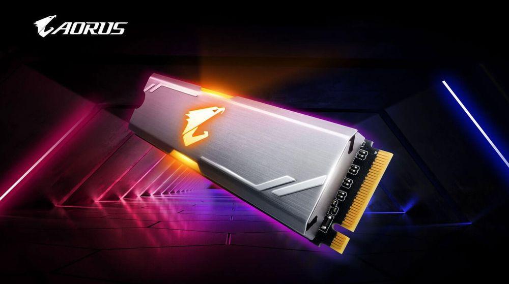 Gigabyte AORUS RGB M.2 NVMe SSD