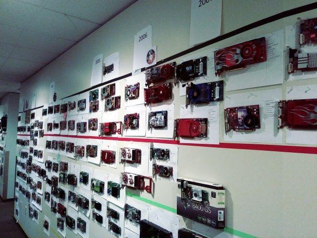 Wall of GPU History
