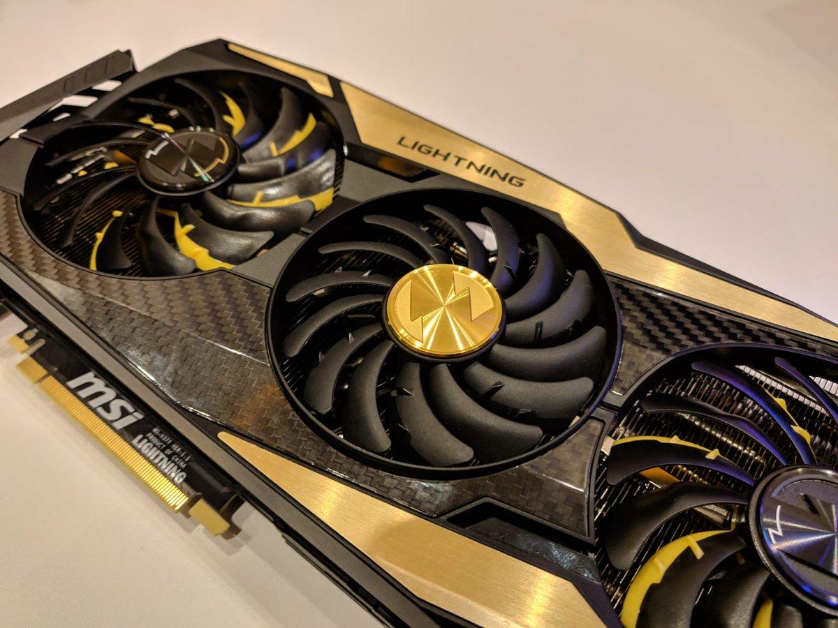 MSI GeForce RTX 2080 Ti Lightning