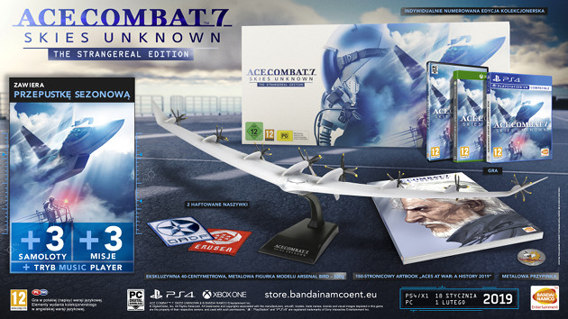 Ace Combat 7 The Strangereal Edition