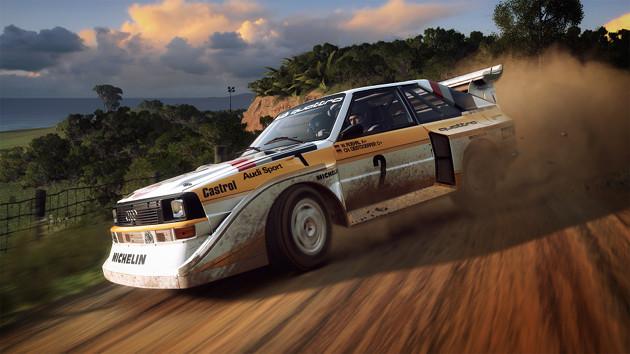Dirt Rally 2.0 uszkodzenia