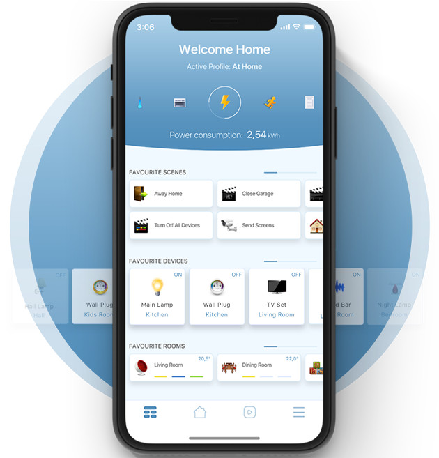 Fibaro Home Center app