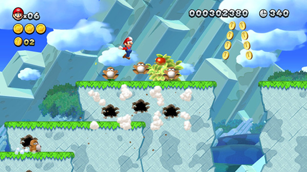 New Super Mario Bros. U Deluxe screen