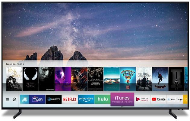 Samsung CES iTunes