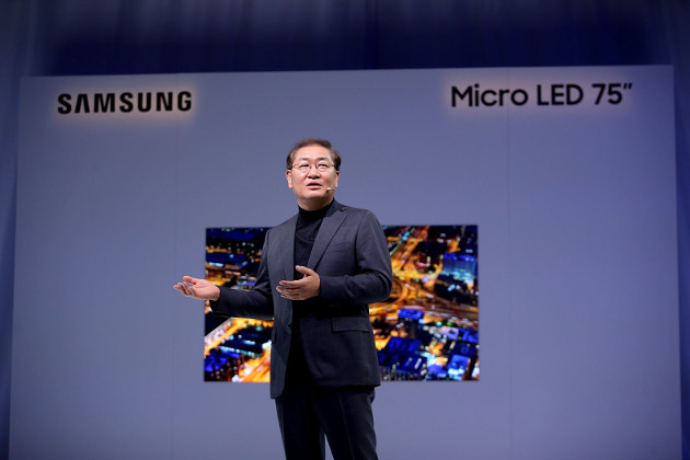 Samsung CES MicroLED