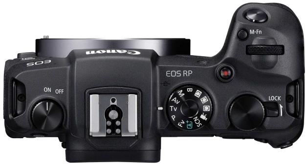 Canon EOS RP tył