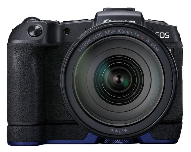 Canon EOS RP z uchwytem