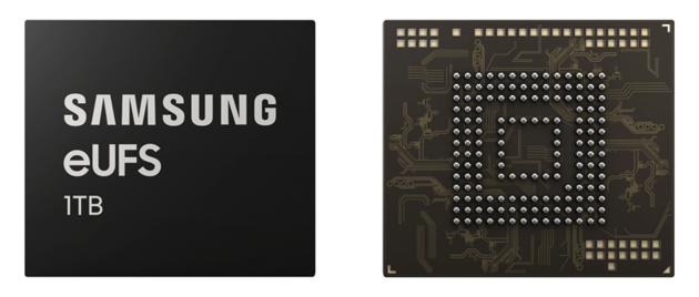 Samsung 1 TB eUFS moduł