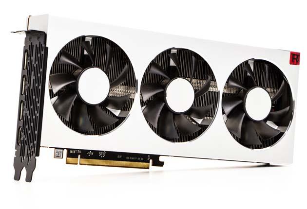 AMD Radeon 7 - zdjęcie karty