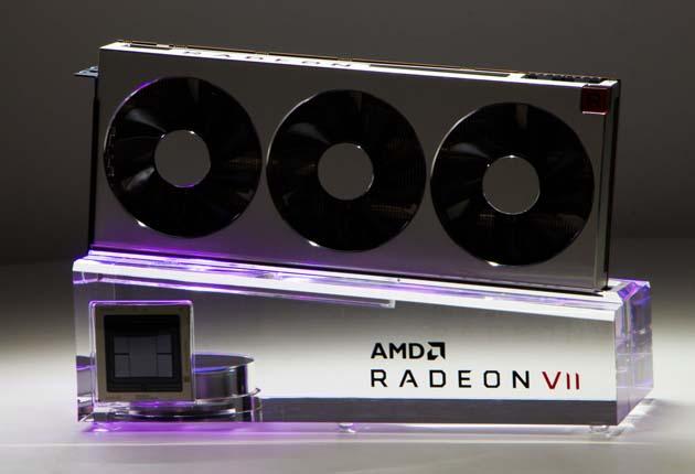 AMD Radeon VII - karta na podeście