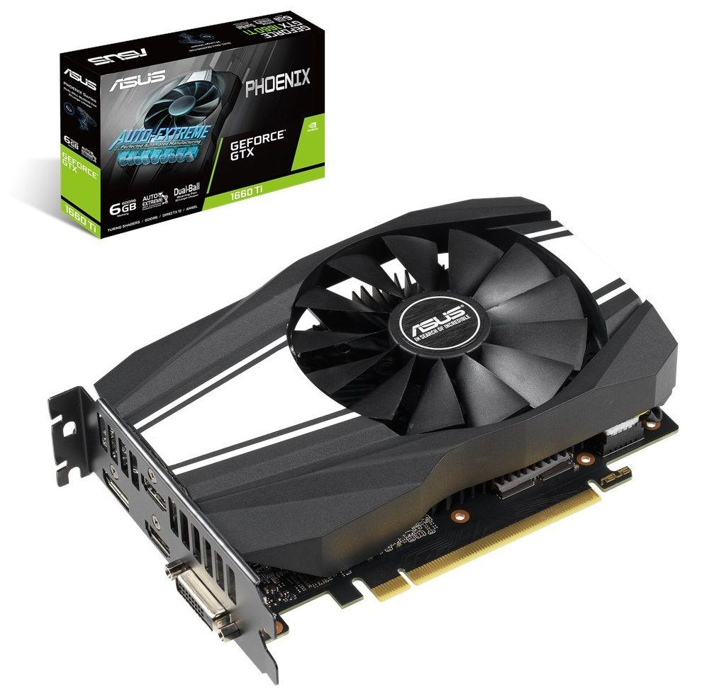 ASUS Phoenix GeForce GTX 1660 Ti Phoenix 6GB