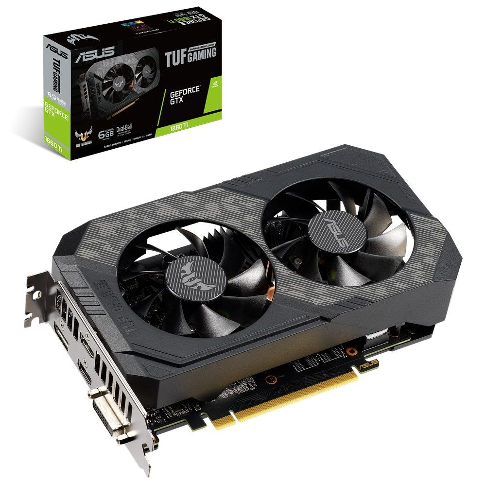 ASUS TUF GeForce GTX 1660 Ti 6GB