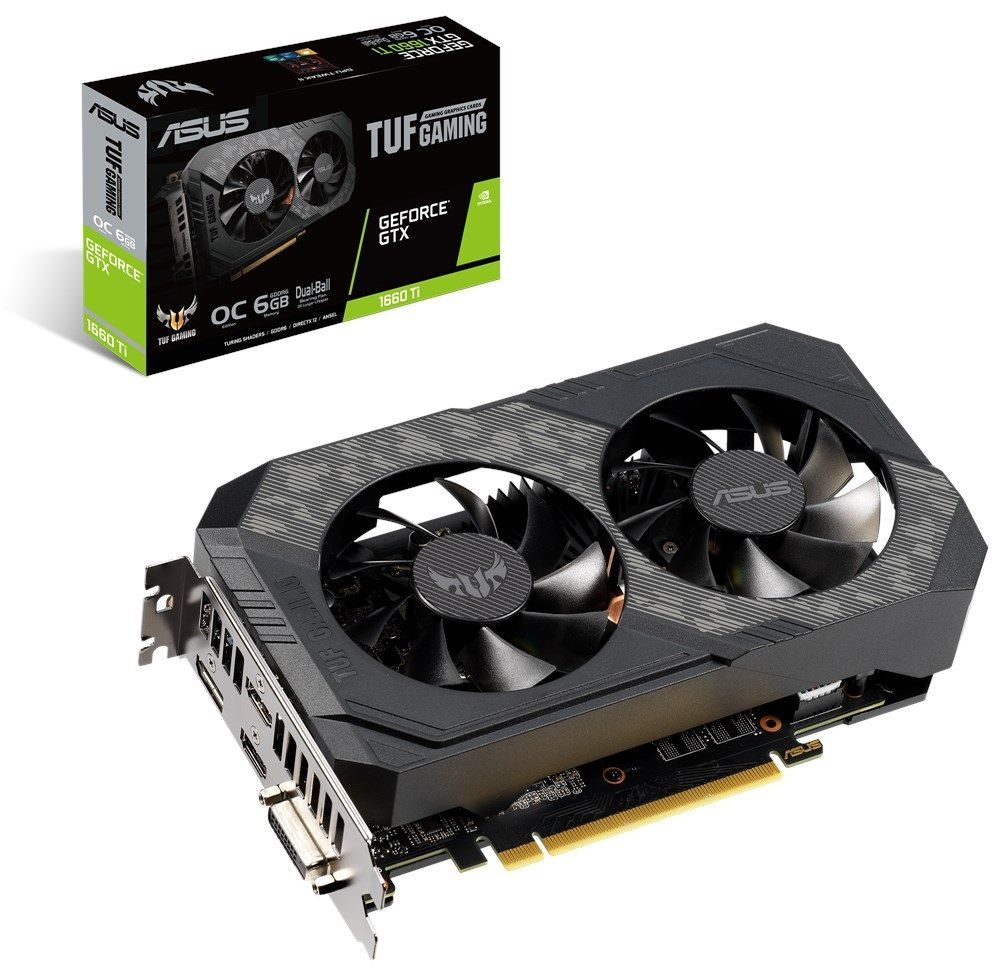 ASUS TUF GeForce GTX 1660 Ti OC 6GB