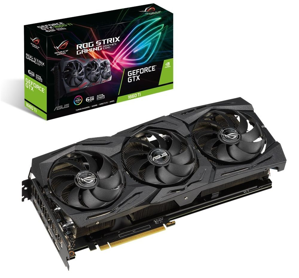 ASUS ROG Strix GeForce GTX 1660 Ti 6GB