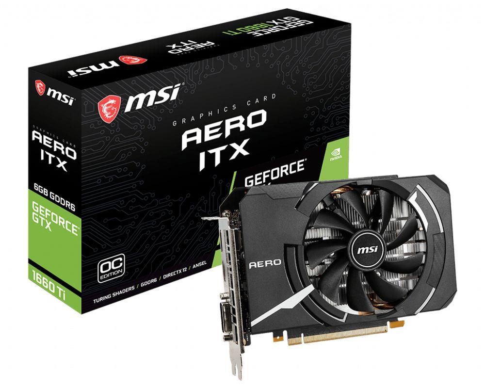 MSI GeForce GTX 1660 Ti Aero ITX OC 6G
