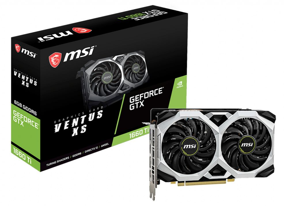 MSI GeForce GTX 1660 Ti Ventus XS 6G