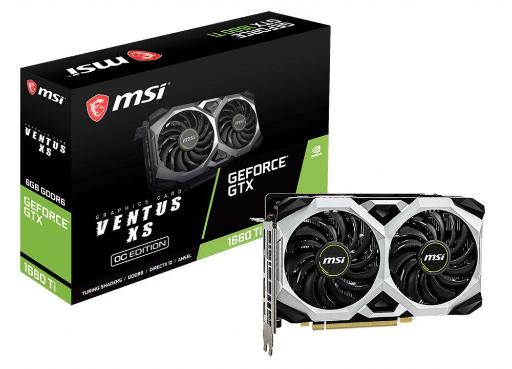 MSI GeForce GTX 1660 Ti Ventus XS OC 6G