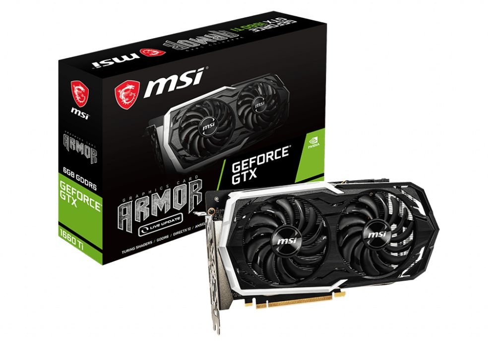 MSI GeForce GTX 1660 Ti Armor OC 6G