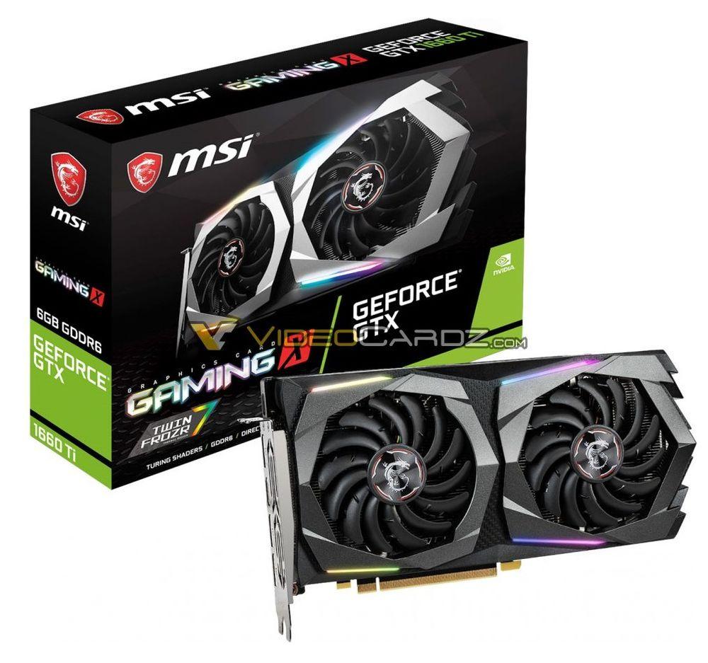 MSI GeForce GTX 1660 Ti Gaming C