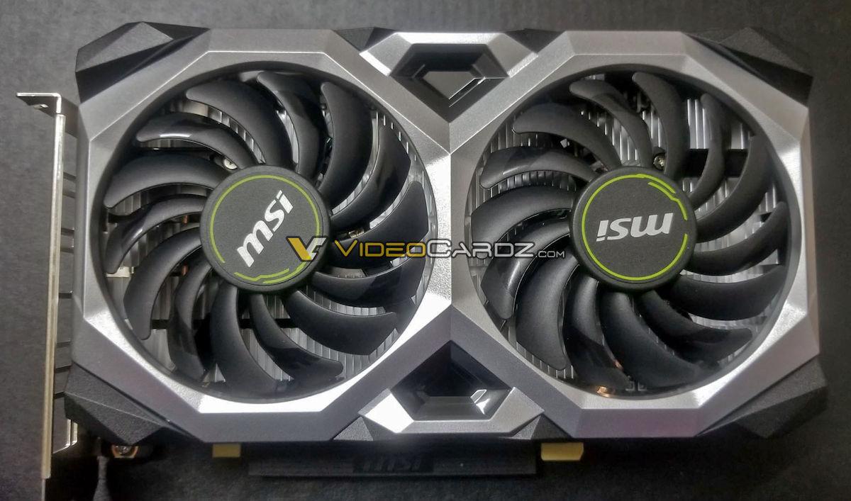 MSI GeForce GTX 1660 Ti Vensus XS 6G