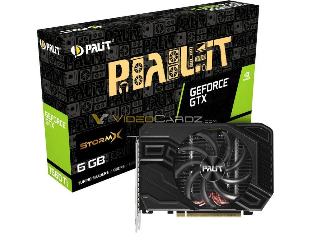 Palit GeForce GTX 1660 Ti StormX