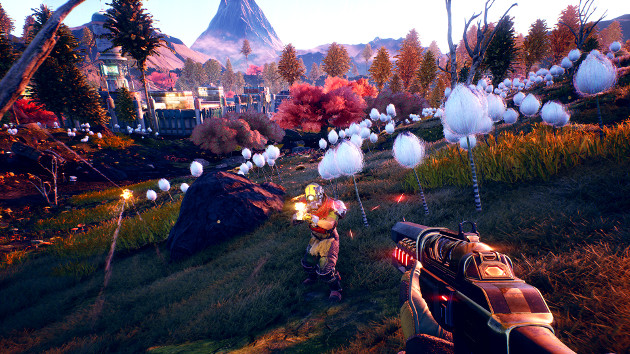 The Outer Worlds screen