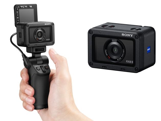 Sony RX0 II uchwyt dłoń kamera