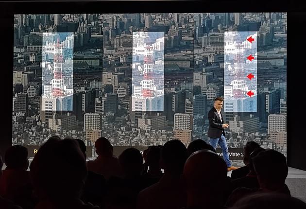 Porównanie Redmi Note7, Samsung Galaxy A7 i Huawei Mate 20 Lite zbliżenie