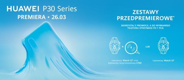 Huawei P30 przedsprzedaż