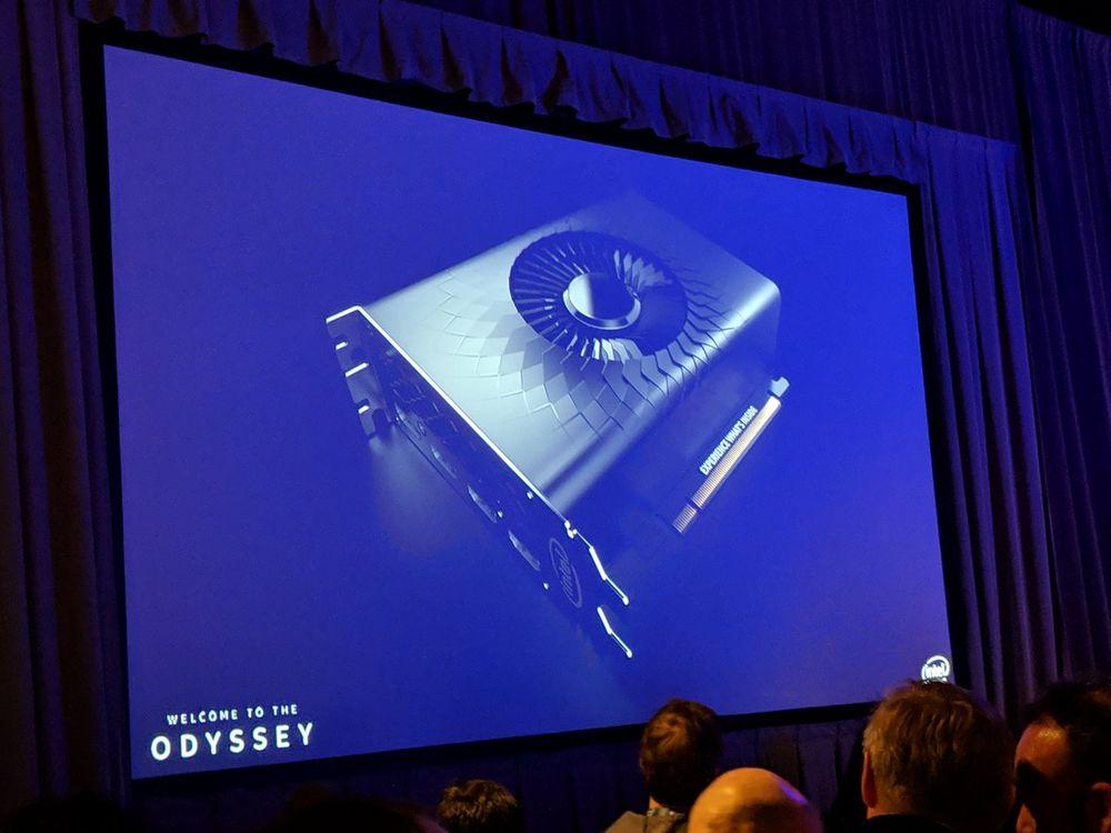 Intel karta graficzna - grafika koncepcyjna